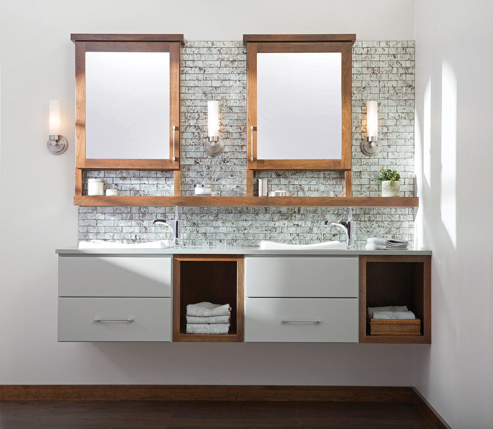 The Future of Floating Bathroom Vanities - Contemporary ...