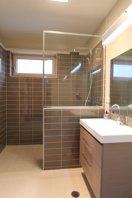 Bathroom Renovation Queanbeyan the gate house - contemporary - bathroom - canberra - queanbeyan