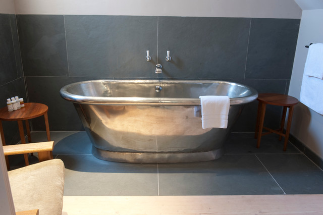 The George In Rye Contemporary Bathroom Dorset By William Holland Ltd