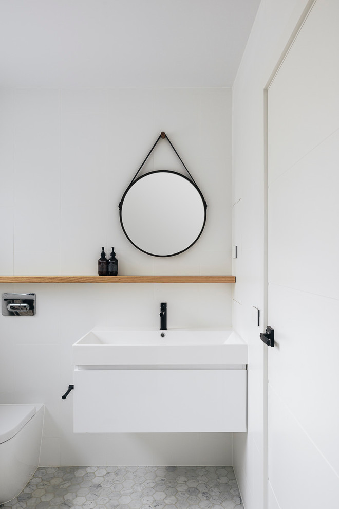 The Giralang Project - Contemporary - Bathroom - Canberra ...