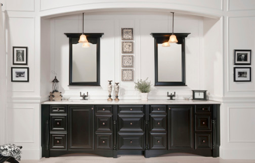The Granbury Transitional Suite Exclusive To Elegant Bath Collection Traditional Bathroom