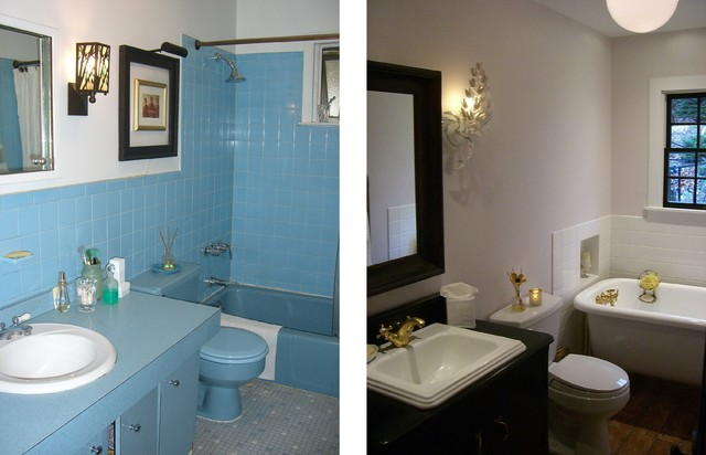 The hamptons before and after staging photos eclectic bathroom new york by donovan Bathroom design jobs southampton