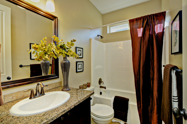 The Harrison traditional-bathroom