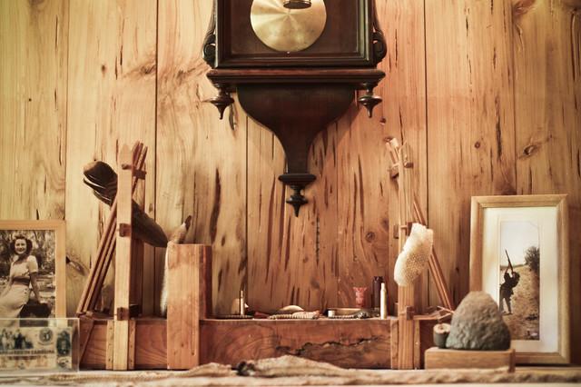 The Hunting Life rustic-bathroom