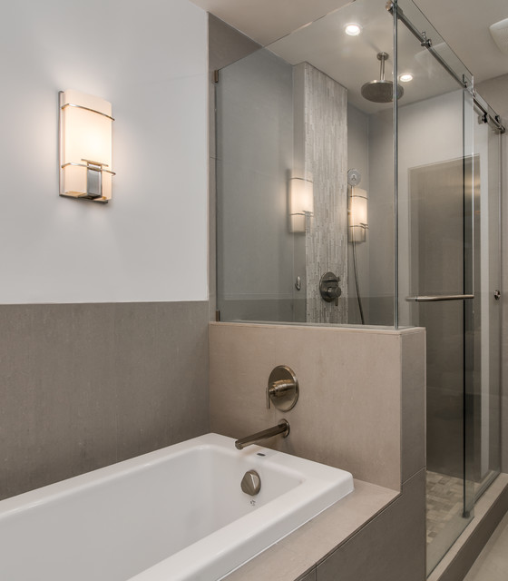 The Hutton Hotel Comes Home - Modern - Bathroom ...