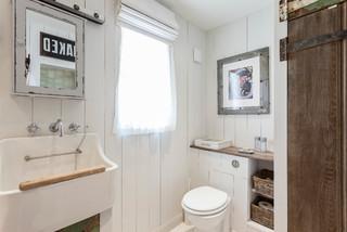 the island shabby chic style bathroom london by chris snook ...