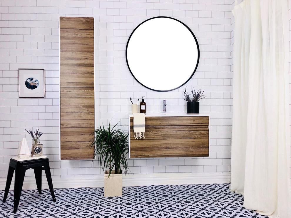 """The Ivy 36"""" Bathroom Vanity - Modern - Bathroom - Los ..."""