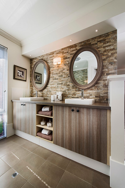 The karri creek traditional contemporary bathroom for Bathroom remodel under 5k