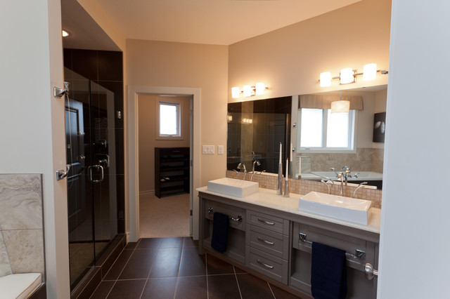 The Lancaster contemporary-bathroom