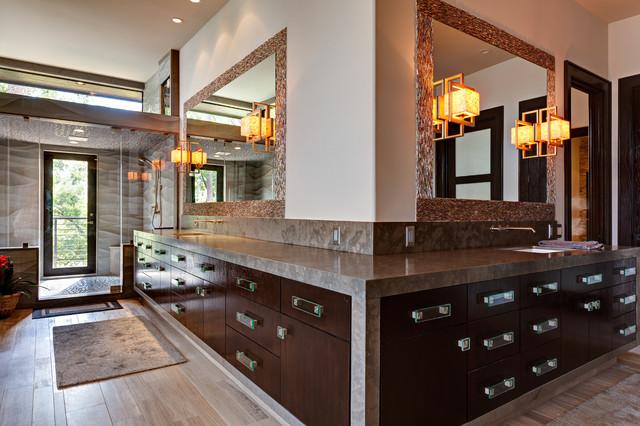 The LeBlanc-Cox Residence contemporary-bathroom