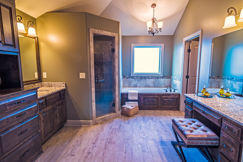 the Lockwood Master Bathroom - Transitional - Bathroom ...