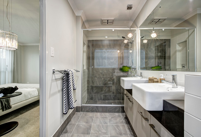 The marlow contemporary bathroom perth by for Marlow builders