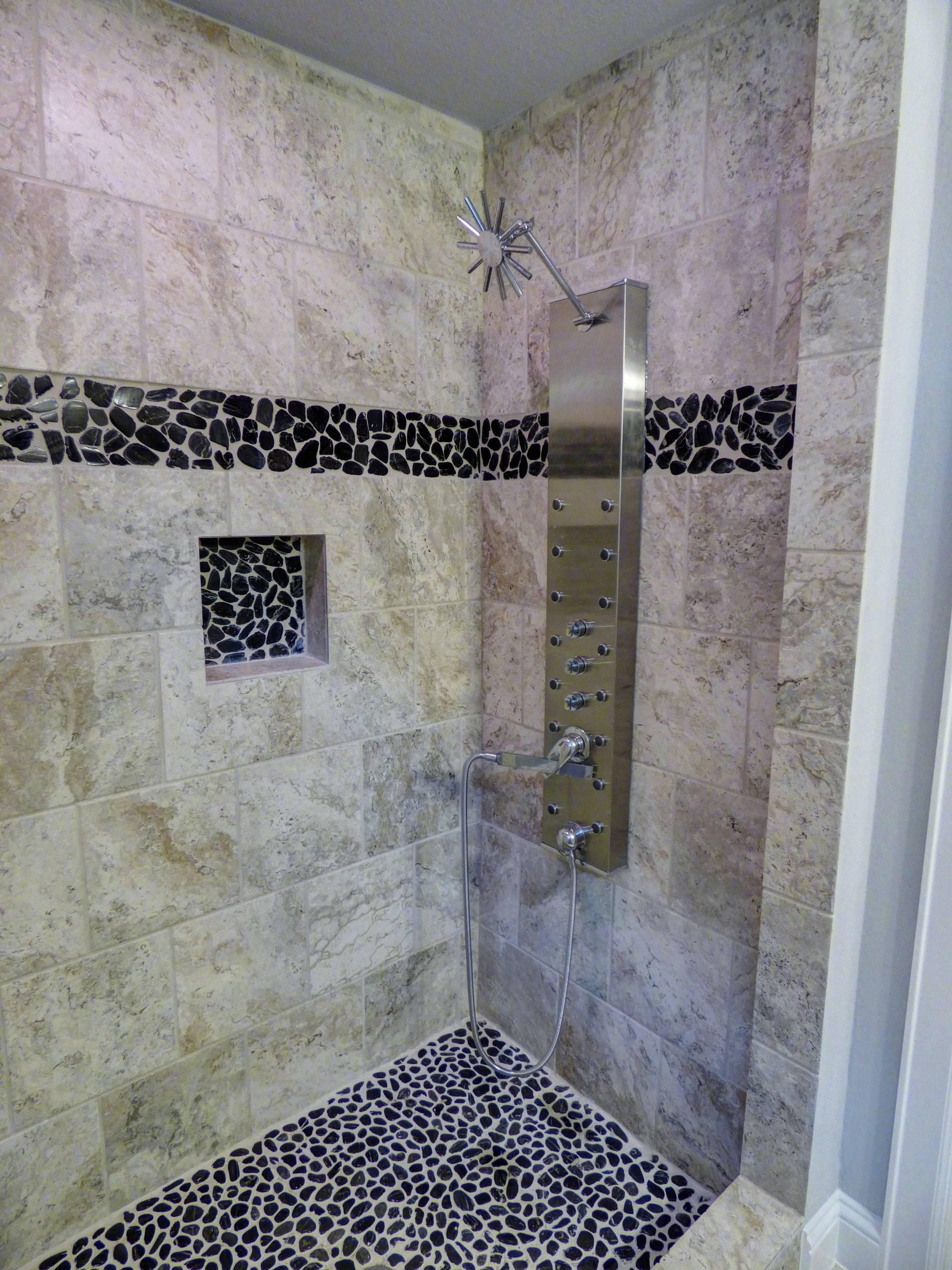 The Oasis of Westbury Man's Master Bathroom