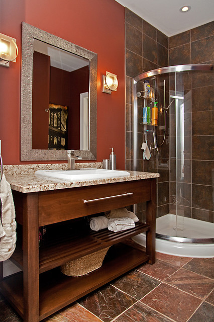 The olde farm house traditional-bathroom