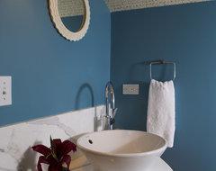 The Passage beach-style-bathroom