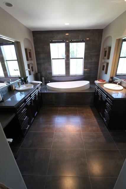 The Peninsula Huntington Beach, ca contemporary-bathroom