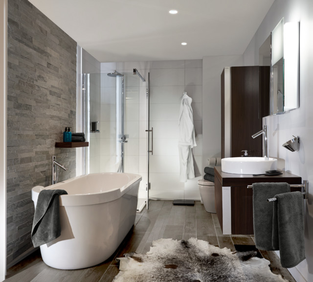 the philippe starck by duravit bathroom modern bathroom chicago by revive designer