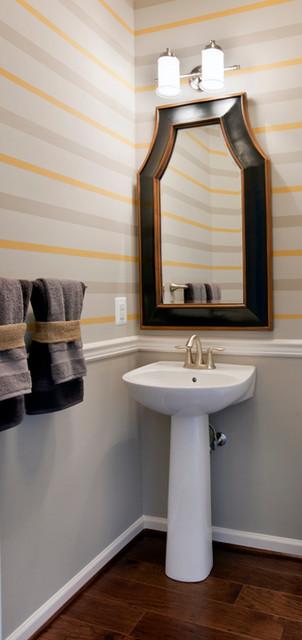 The Pointe at Arundel Preserve - Chandelier Model contemporary-bathroom