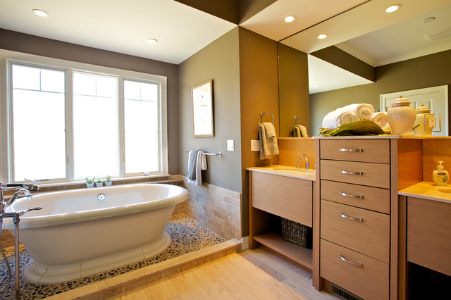 The Residences At Black Rock Transitional Bathroom