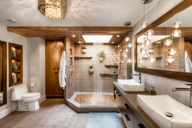 The Resplendent Bath Tropical Bathroom Minneapolis