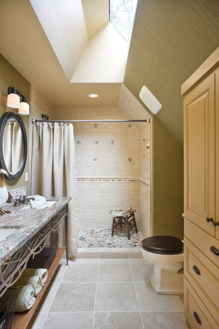 The Rivendell Manor traditional-bathroom