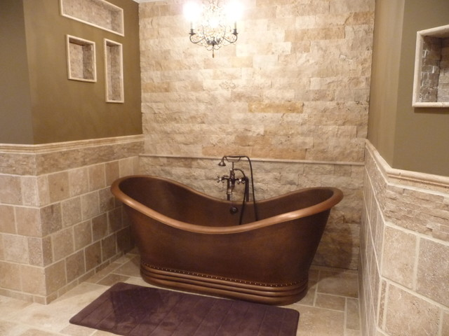 Bathroom Floor Tiles Natural Stone : The roman bathroom experience traditional philadelphia by stonemar natural