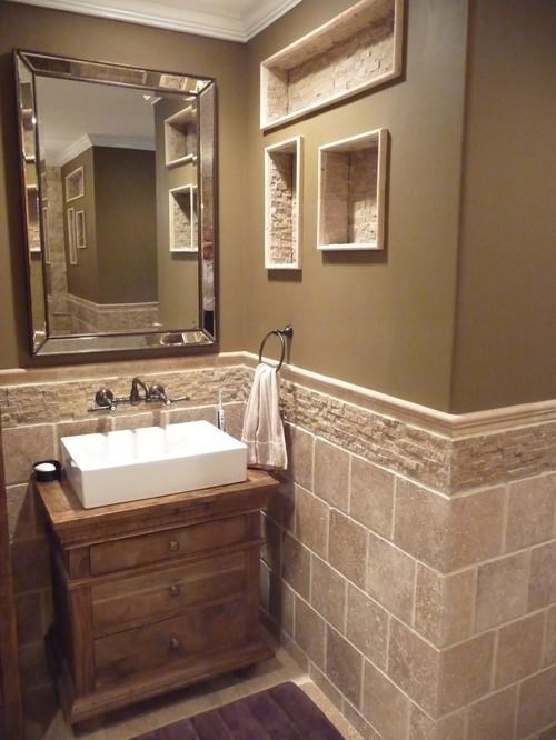 Roman Style Bathroom.