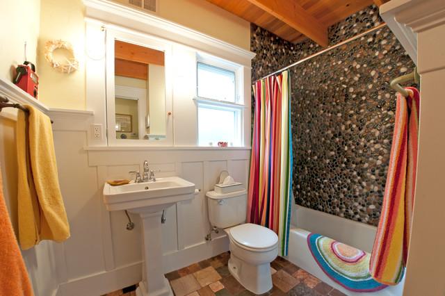 The Salsa House eclectic-bathroom