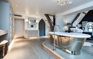 The sanctuary eclectic bathroom south west by for Holland kitchen bathroom design ltd