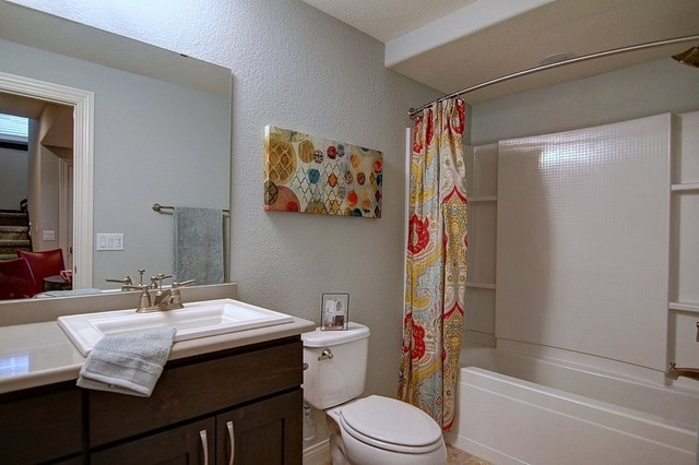 The Sienna Model in Oregon, WI traditional-bathroom