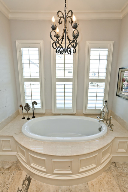 The Sterling traditional-bathroom