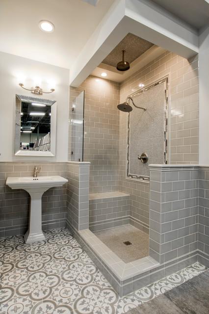 The Tile Shop - Cheverny Feature Bathroom - Transitional - Bathroom
