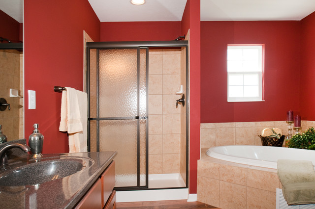 The Touchstone by Potterhill Homes traditional-bathroom