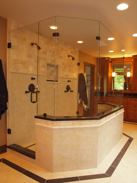 The Ultimate His Her Bathroom Traditional
