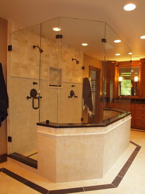 The Ultimate His U0026 Her Bathroom Traditional Bathroom