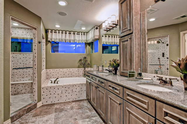 The Vail eclectic-bathroom
