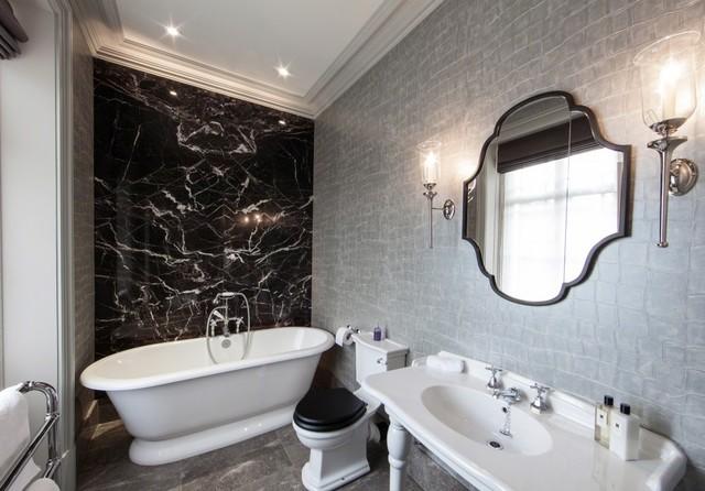 The Vicarage Contemporary Bathroom