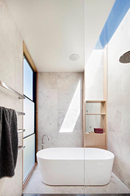Bathroom Fixtures Geelong the villa at barwon heads - modern - bathroom - geelong -bower