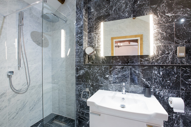 The Waternook Estate Contemporary Bathroom Other By Irwin Tiling