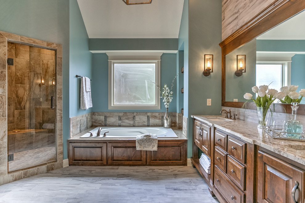 The Wildwood by SAB Homes - Traditional - Bathroom ...