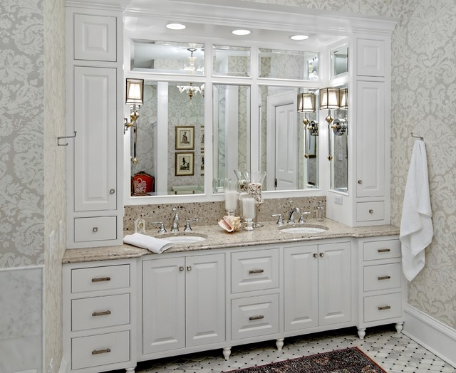 The Woodshop Of Avon Traditional Bathroom Minneapolis By The - Bathroom vanities in minneapolis