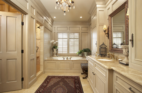 The Woodshop of Avon traditional-bathroom