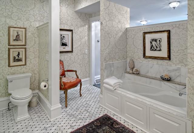 The Woodshop of Avon traditional-bathroom
