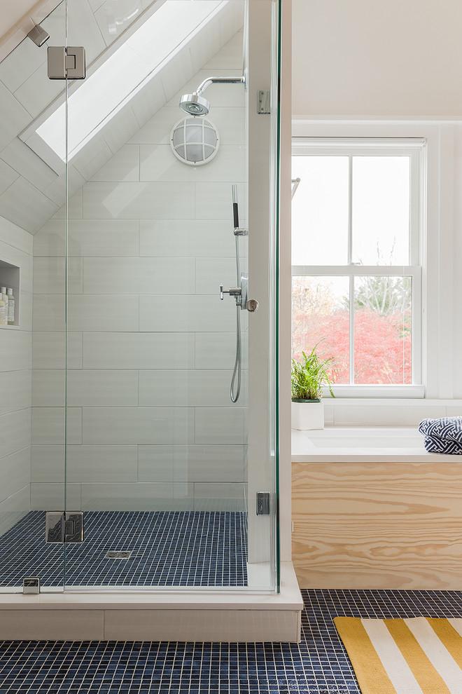 This Old House Cambridge Beach Style Bathroom Boston