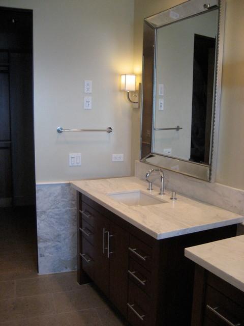 Three Arch Bay traditional-bathroom