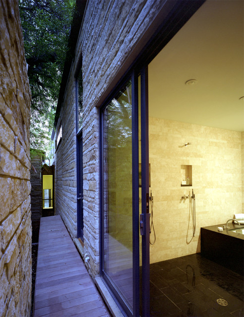 Three Stones modern bathroom