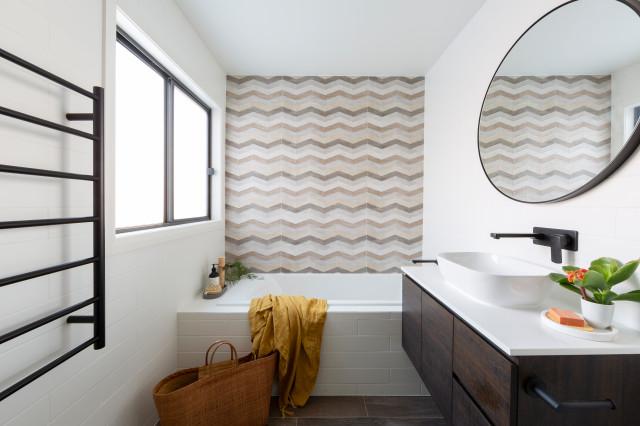 19 Examples Of Creative Australian Bathroom Wall Tiles Houzz Au