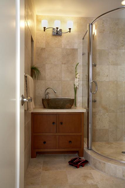 Tiburon home with Asian influence asian-bathroom