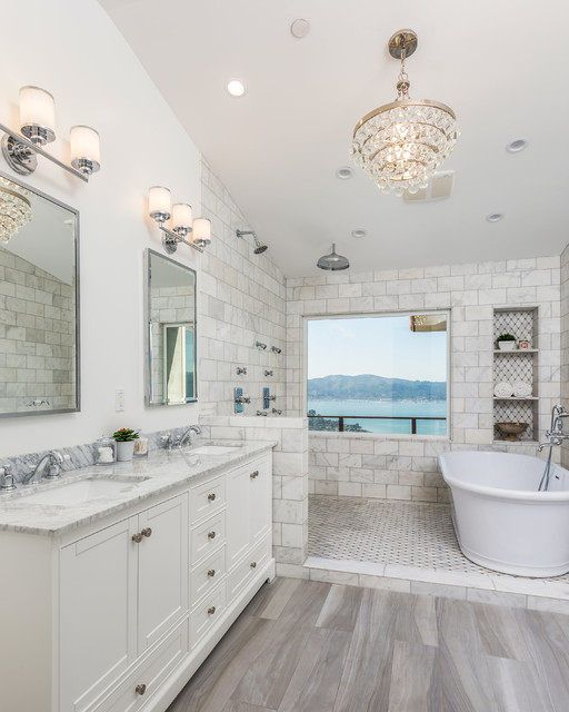 Tiburon Remodel Bathroom - How to completely remodel a bathroom