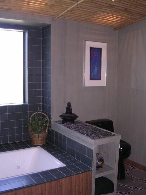 Tiburon Waterfront home - full remodel contemporary-bathroom